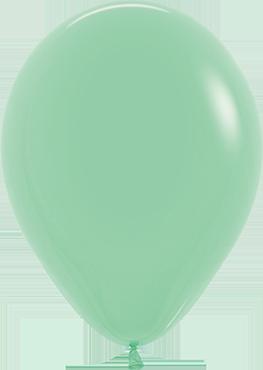 Fashion Mint Green Latex Round 5in/12.5cm