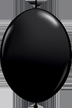 Fashion Onyx Black QuickLink 6in/15cm