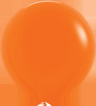 Fashion Orange Latex Round 36in/90cm