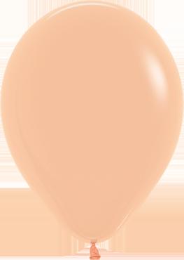 Fashion Peach Blush Latex Round 11in/27.5cm