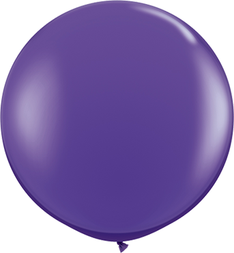Fashion Purple Violet Latex Round 36in/90cm