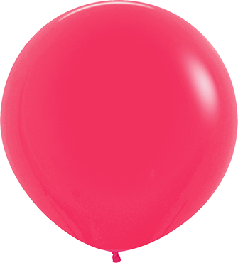 Fashion Raspberry Latex Round 24in/60cm