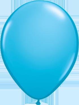 Fashion Robins Egg Blue Latex Round 11in/27.5cm