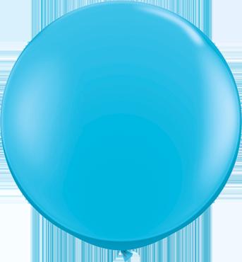 Fashion Robins Egg Blue Latex Round 36in/90cm