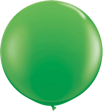 Fashion Spring Green Latex Round 36in/90cm