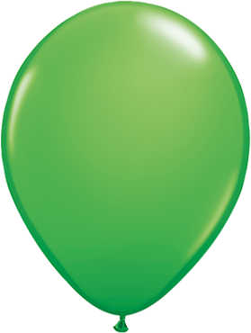 Fashion Spring Green Latex Round 5in/12.5cm