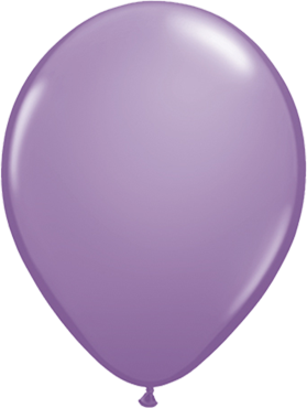 Fashion Spring Lilac Latex Round 11in/27.5cm