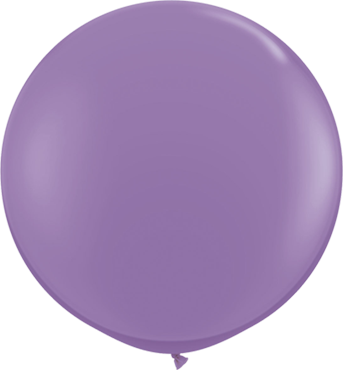 Fashion Spring Lilac Latex Round 36in/90cm