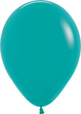 Fashion Turquoise Green Latex Round 5in/12.5cm