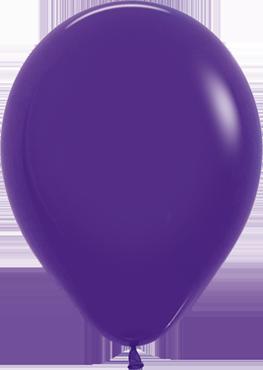 Fashion Violet Latex Round 11in/27.5cm