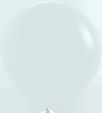 Fashion White Latex Round 36in/90cm