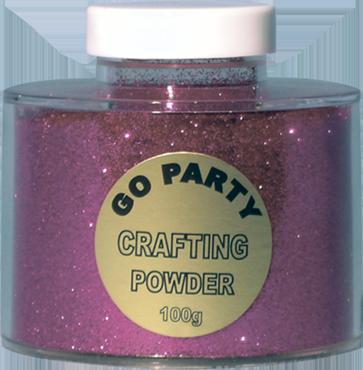 Fuchsia Glitter Pot 100g