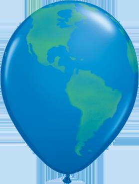 Globe Standard Dark Blue Latex Round 11in/27.5cm
