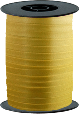 Gold Curling Ribbon 10mm x 250m