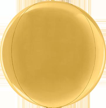 Gold Globe 15in/38cm