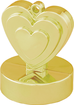 Gold Heart Weight 110g 62mm
