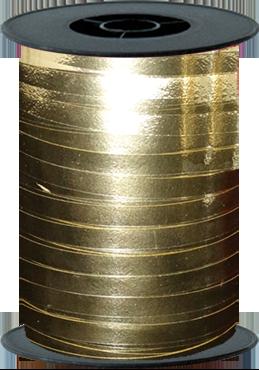 Gold Metallic Curling Ribbon 10mm x 250m