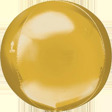 Gold Orbz 15in/38cm x 16in/40cm