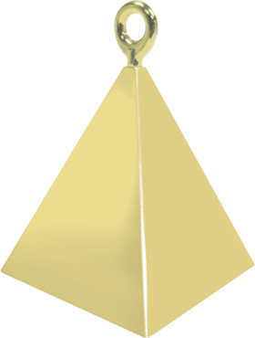 Gold Pyramid Weight 150g 62mm
