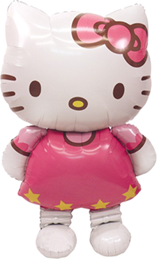 Hello Kitty Airwaker 30in/76cm x 50in/127cm