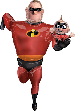 Incredibles 2 Mr Incredible Airwalker 35in/88cm x 67in/170cm