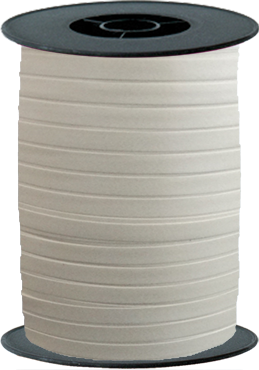 Ivory Curling Ribbon 10mm x 250m