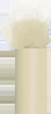 Ivory Tulle 30cm x 23m