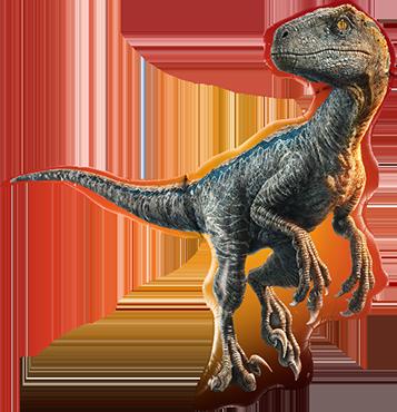 Jurassic World: Raptor Foil Shape 38in/97cm