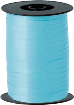 Light Blue Curling Ribbon 5mm x 500m