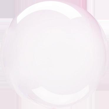 Light Pink Crystal Clearz Orbz 18in/45cm x 18in/45cm