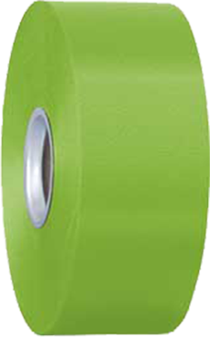 Lime Green Balloon Ribbon 5cm x 100m