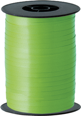 Lime Green Curling Ribbon 5mm x 500m