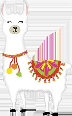 Llama Shape 45in/114cm