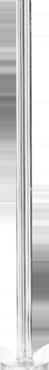 Lomey Clear Pedestals 79cm
