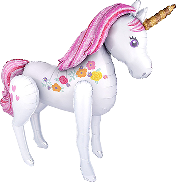 Magical Unicorn Airwalker 46in/116cm