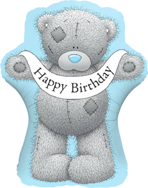Me To You - Tatty Teddy Birthday Banner Foil Shape 36in/90cm