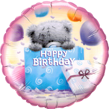 Me To You - Tatty Teddy Birthday Present Foil Round 18in/45cm