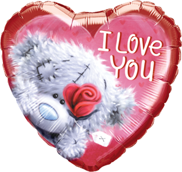 Me To You - Tatty Teddy I Love You Foil Heart 18in/45cm