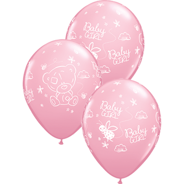 Me To You - Tiny Tatty Teddy Baby Girl Standard Pink Latex Round 11in/27.5cm