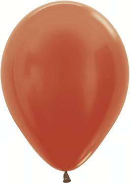 Metallic Copper Latex Round 5in/12.5cm