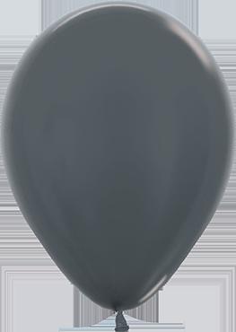 Metallic Graphite Latex Round 11in/27.5cm