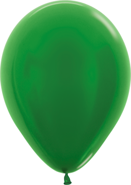 Metallic Green Latex Round 5in/12.5cm