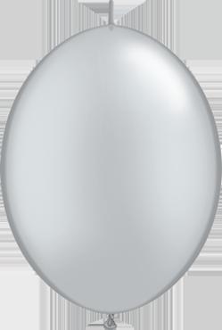 Metallic Silver QuickLink 6in/15cm