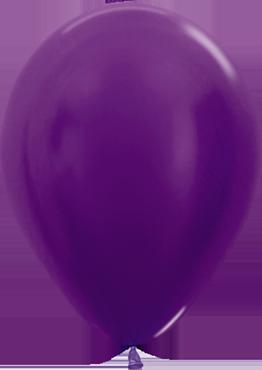 Metallic Violet Latex Round 11in/27.5cm