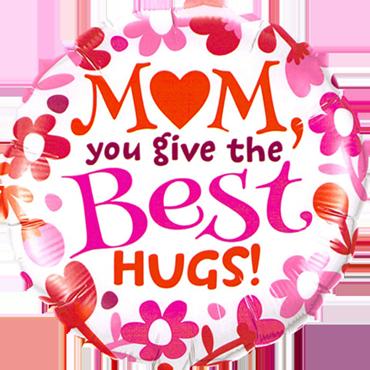 M(Heart)M - Best Hugs! Foil Round 18in/45cm
