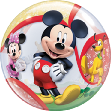 Mickey and His Friends Single Bubble 22in/55cm