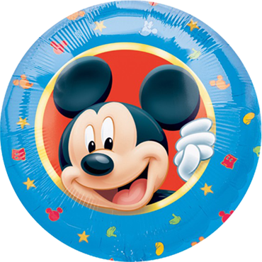 Mickey Character Foil Round 18in/45cm