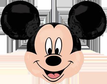 Mickey Mouse Head Vendor Foil Shape 21in/53cm x 21in/53cm