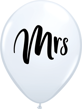 Mrs Standard White Latex Round 11in/27.5cm