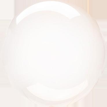 Orange Crystal Clearz Orbz 18in/45cm x 18in/45cm